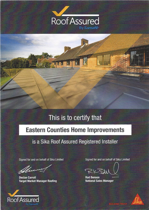 Flat Roofing Colchester Sika Sarnafil Installers