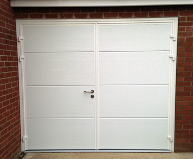 Teckentrup Side Hinged Garage Doors