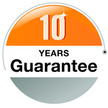 Hormann Garage Doors come with a 10 year guarantee!