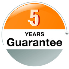 Hormann Garage Motors come with a 5 year guarantee!